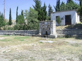 Traditional Fountain in local community Zoodochos Pigi Farsalon